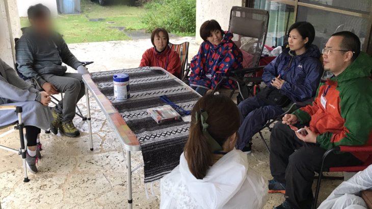 【島あっちぃレポート】ゆるい焚き火・アウトドア料理体験イベントを開催したよ!(強風でハードモードだったけど)