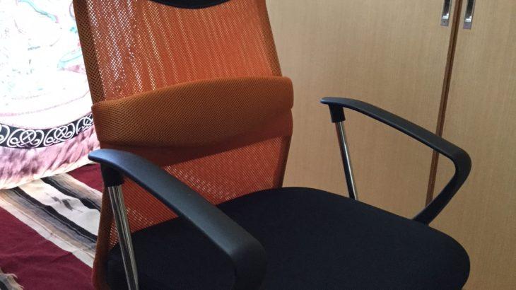 アウトドアチェアでは代用不可!?コスパ最高椅子「タンスのゲン G-AIR ハイバックオフィスチェア」を紹介