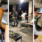 【至高のBBQ】「久米島赤鶏ビア缶チキン」VS「生牡蠣and焼き牡蠣」!! あなたはどっち?